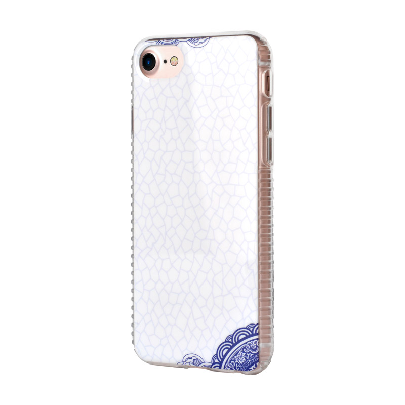 White apple iphone8 plus phone case