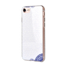 White elegant imd custom iphone8 plus case