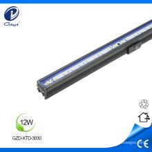 Mudança de cor 12W iluminação linear ao ar livre LED