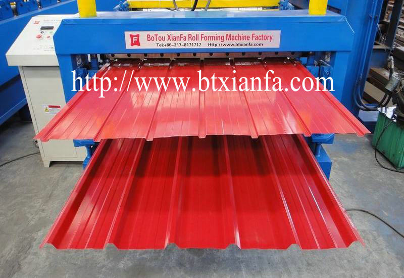 Roof Cladding Roll Forming Machine 2