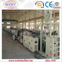 Tuyau de gaz de l'eau de PE PP PPR faisant la machine de Qingdao Weier