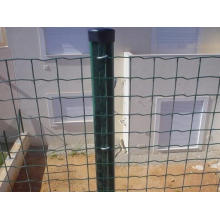 Hot Sale City Transit PVC/PE dipped coating Euro fence for cheap price