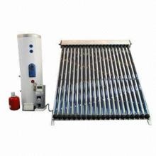Split Pressurized Heat Pipe Solar Water Heater, High Efficiency