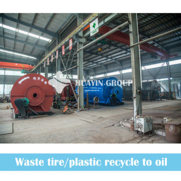 8/10T Waste Scrap Tire Pyrolysis Line In indonesia Thailand Malaysia