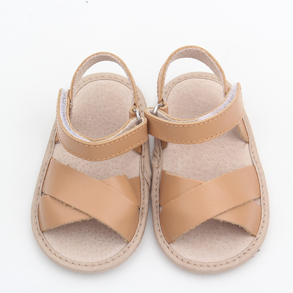 Leather Baby Sandal Rubber Sole Wholesale