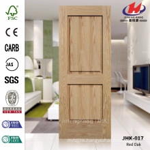 JHK-017 Thickness 4.5mm India Convex Red Oak Bathroom Door Panel