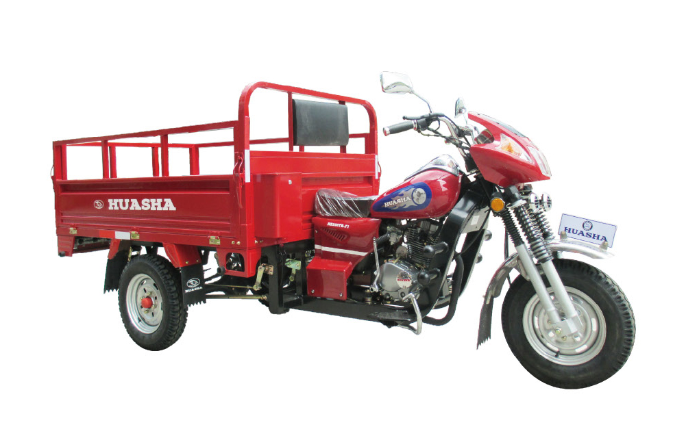 Cargoes Passengers design Jiangmen Huasha Jinyee motor trike cargo motorcycle for cheap price sale