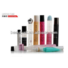 plastic cosmetic lipstick tube