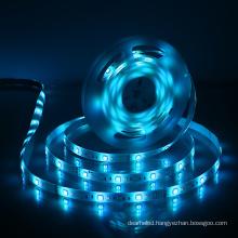Rgb W12*l5000 Cob Light 20m Remote Mini Strips Luminous Efficiency 80 Lm/w Ip Rating Ip20 / Qty 360 Leds/5m Cheap Led Strip