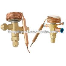 Válvula de expansão termostática com certificado CE