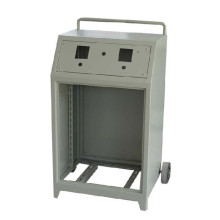 Bewegliche Powder Coating Trolley Industry Distribution Shield
