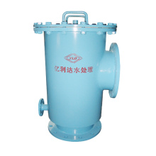 T Type Basket Filter Pipelines Solids Removal