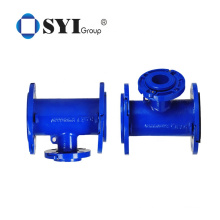 High Quality Ductile Iron All Flanged Cross Pipe Fittings for Water System