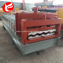 Metal glazed tile metal profile roofing machine