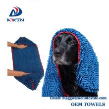 Toalla absorbente / que se lava al por mayor estupenda del perro de la microfibra