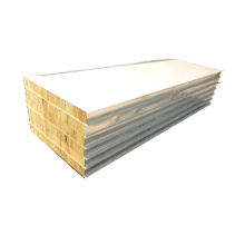 termurah 50mm rockwool panel sandwich dinding isolasi