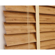 Window Decoration 2 Inches Width Natural Bamboo Window Blinds Components
