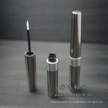 Caso de aluminio vacío delineador de ojos tubo/delineador de ojos
