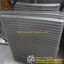 Panel de malla de alambre soldado galvanizado en caliente