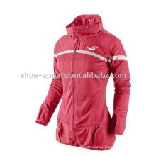 2014 novo design jaqueta de esportes à prova de vento para as mulheres, blusão