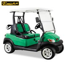 Carro de golf eléctrico de la persona de la batería troyana 48V 2 con el asiento del color doble