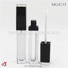 Quadratischer langer Lippenglanzbehälter mit Spiegel