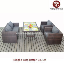 New Set Outdoor Rattan Dining Set with Table (1207)