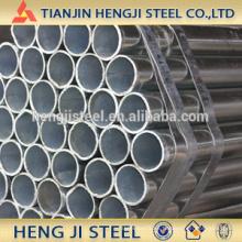 OD 26.9mm, espesor 1.7mm, tubo de acero galvanizado caliente
