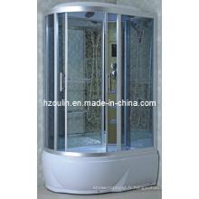 Cabine complète de cabane de cabine de douche de vapeur de luxe (AC-58-118)