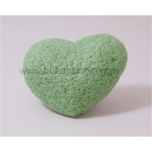 Wholesale Heart Shape Dry Konjac Sponge
