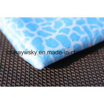 Warp Knitting Short Plush Fabric, Supersoft Fleece