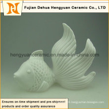 Custom Design Ceramic Fish for Home Decoration