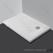 Receveur de douche en résine de pierre de qualité supérieure de rectangle à vendre