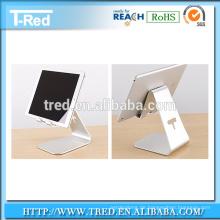 Aluminium-Desktop-Handy-Tablet-Ständer, Nano-Micro-Saughalter am Schreibtisch montiert