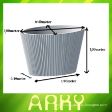 Flower Pot Aluminium Rotational Molding