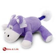 La vaca púrpura encantadora promocional de encargo rellenó el juguete