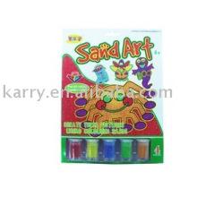 Kits de arte de areia de crianças