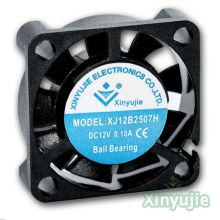 High Quality 25mm 2507 Mini DC Fan 5V Radiator Fan 25 X 25 X 07mm