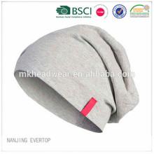Мягкая шляпа трикотажа хлопка касания / slouchy шлем Джерси / slouchy поставщик