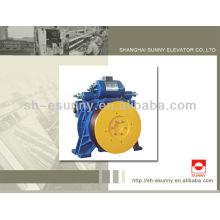 630-800kg de peças de elevador elevador de máquina Gearless da tração