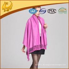 2015 Bambus Material Weichheit gewebt Solid Color Throw Blanket