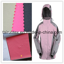 320t Nylon Taslon with Milky Coated for Ski Suit Fabric