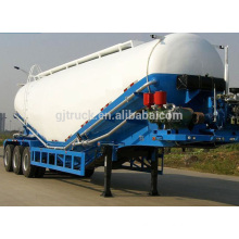Good quality bulk cement truck trailer bulk cement transport trailer for sale china famous brand bulk cement truck trailer