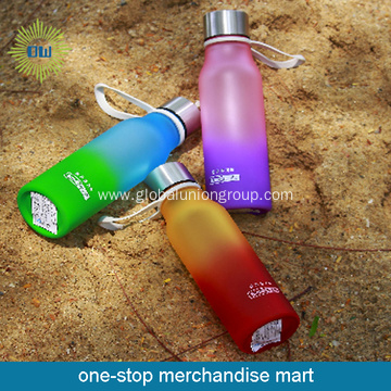 Chic Rainbow Sports Water Bottle