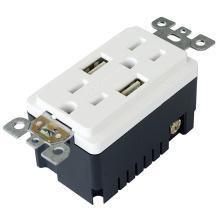 TR-BAS15-2USB UL et CUL liste RECEPTACLE avec USB