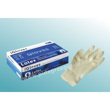 Medical Rubber Gloves For Different Devices, Textured Or Smooth Surface, Disposable 100% Latex Examination Gloves