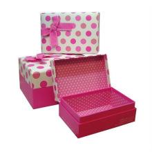 Caixa de embalagem personalizada para papel de presente