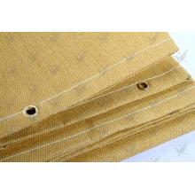 Tela de fibra de vidrio Tratamiento térmico de color dorado