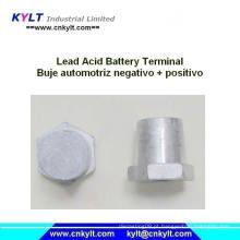 Equador Bateria de chumbo-ácido Buje Automotriz Negativo / Positivo Terminais Pb