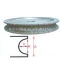 herramientas abrasivas de diamante electrochapadas disco de corte de piedra